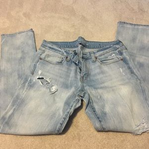 American Eagle - distressed jeans